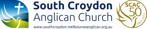 Welcome to South Croydon Anglican Church